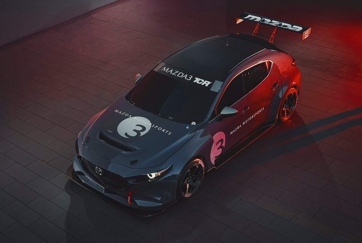 Mazda3 TCR 2020: las mejores fotos del nuevo coche de carreras