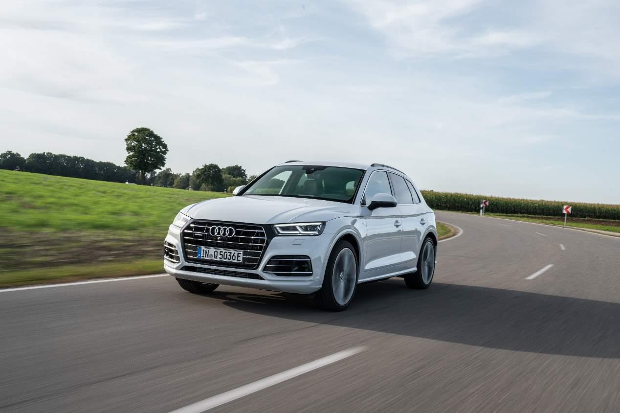 Los plug-in TFSIe de Audi: A7, Q5, A8 y Q7, a prueba