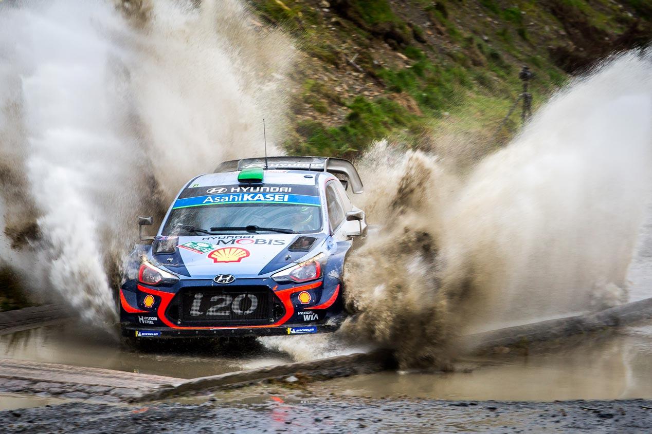 Las mejores imágenes del Rally de Gales 2019