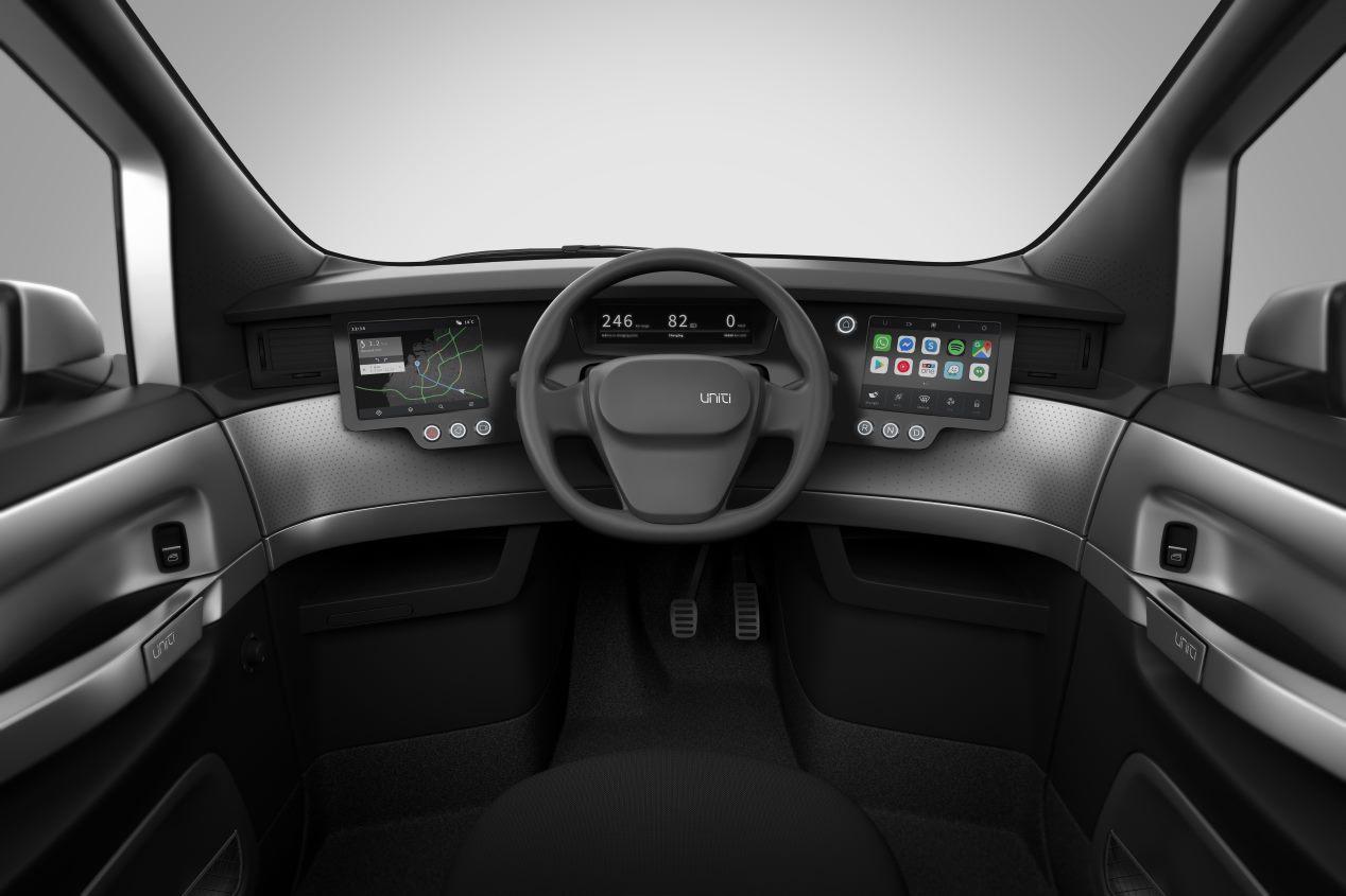 Uniti One: el coche eléctrico low cost ya está a la venta