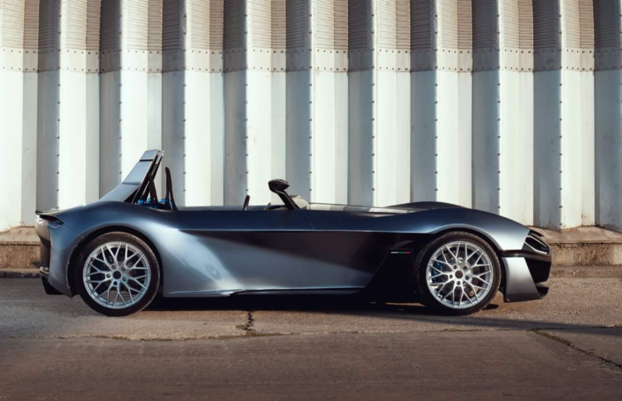 Kinetic 07: el nuevo deportivo eléctrico en 3D, en imágenes