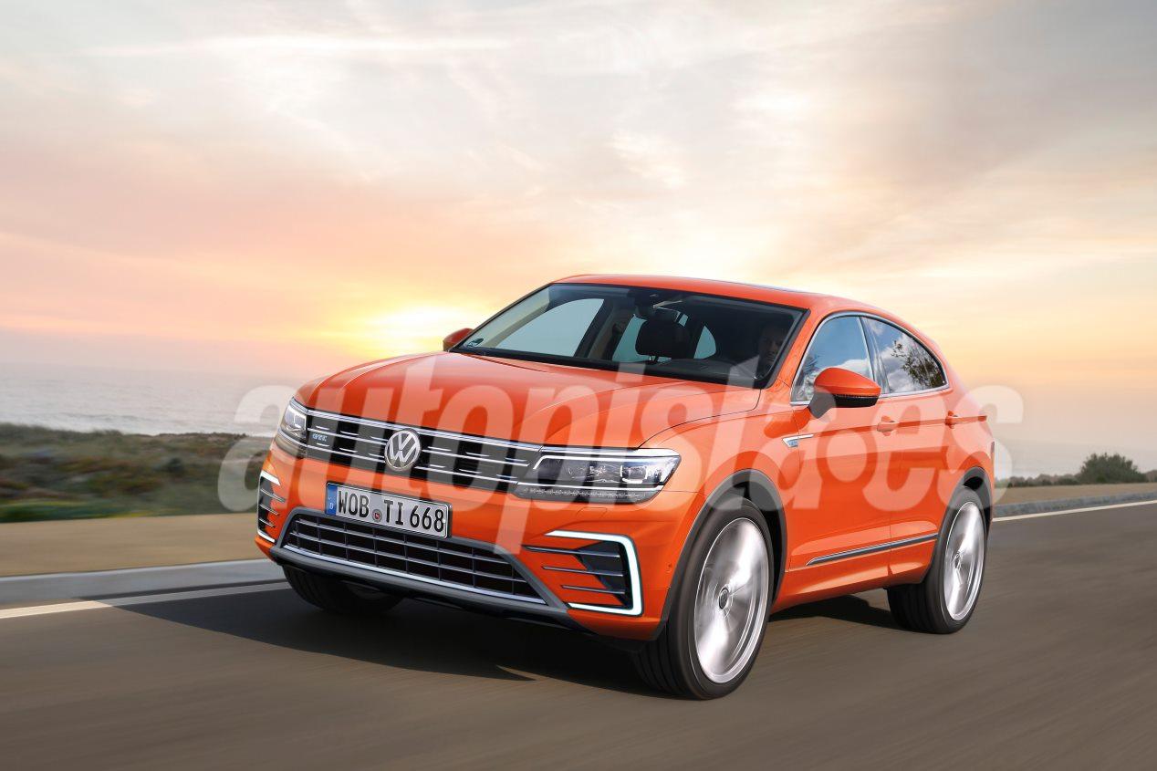 VW Tiguan 2020: así podría ser el renovado SUV medio