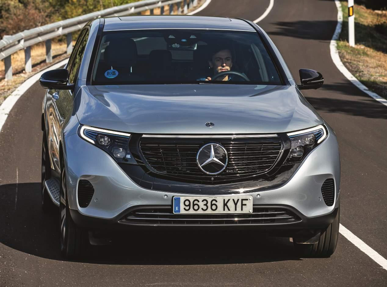 Mercedes EQC 400 4Matic: el SUV eléctrico, a prueba