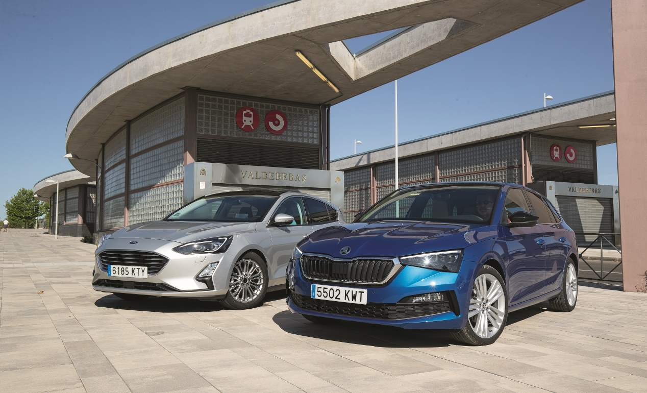 Duelo de compactos diésel: Ford Focus EcoBlue vs Skoda Scala TDI