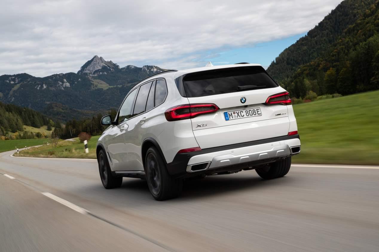 A prueba el BMW X5 xDrive45e: SUV, híbrido plug-in y deportivo