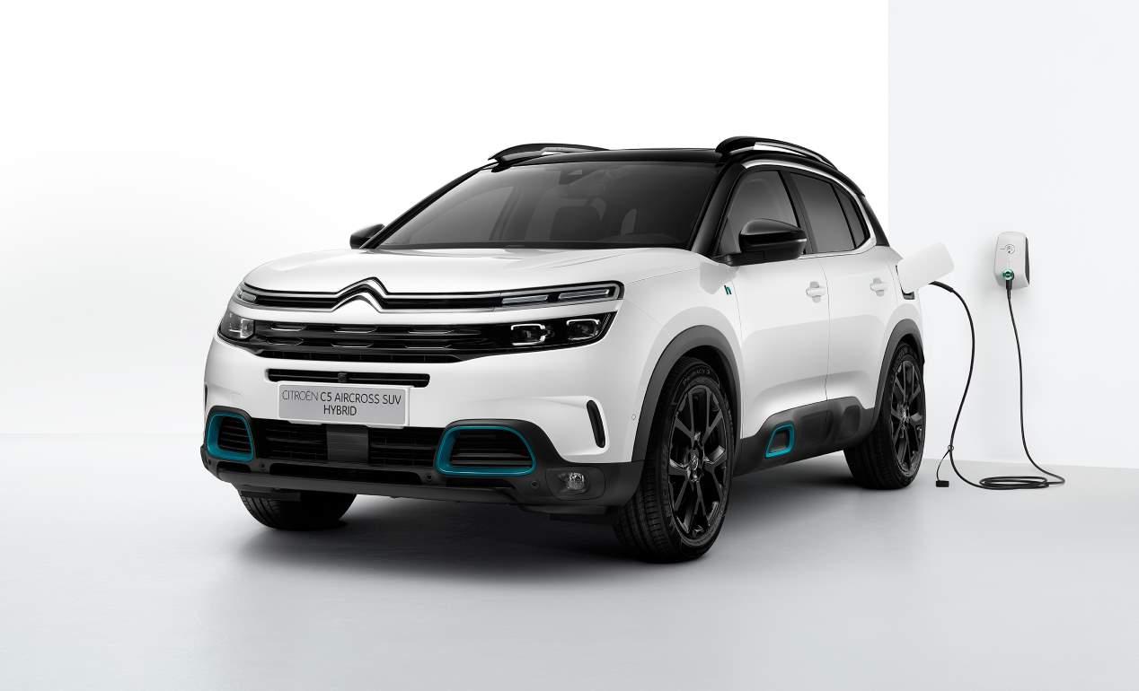 Citroën C5 Aircross Hybrid: el nuevo SUV híbrido enchufable llegará en 2020