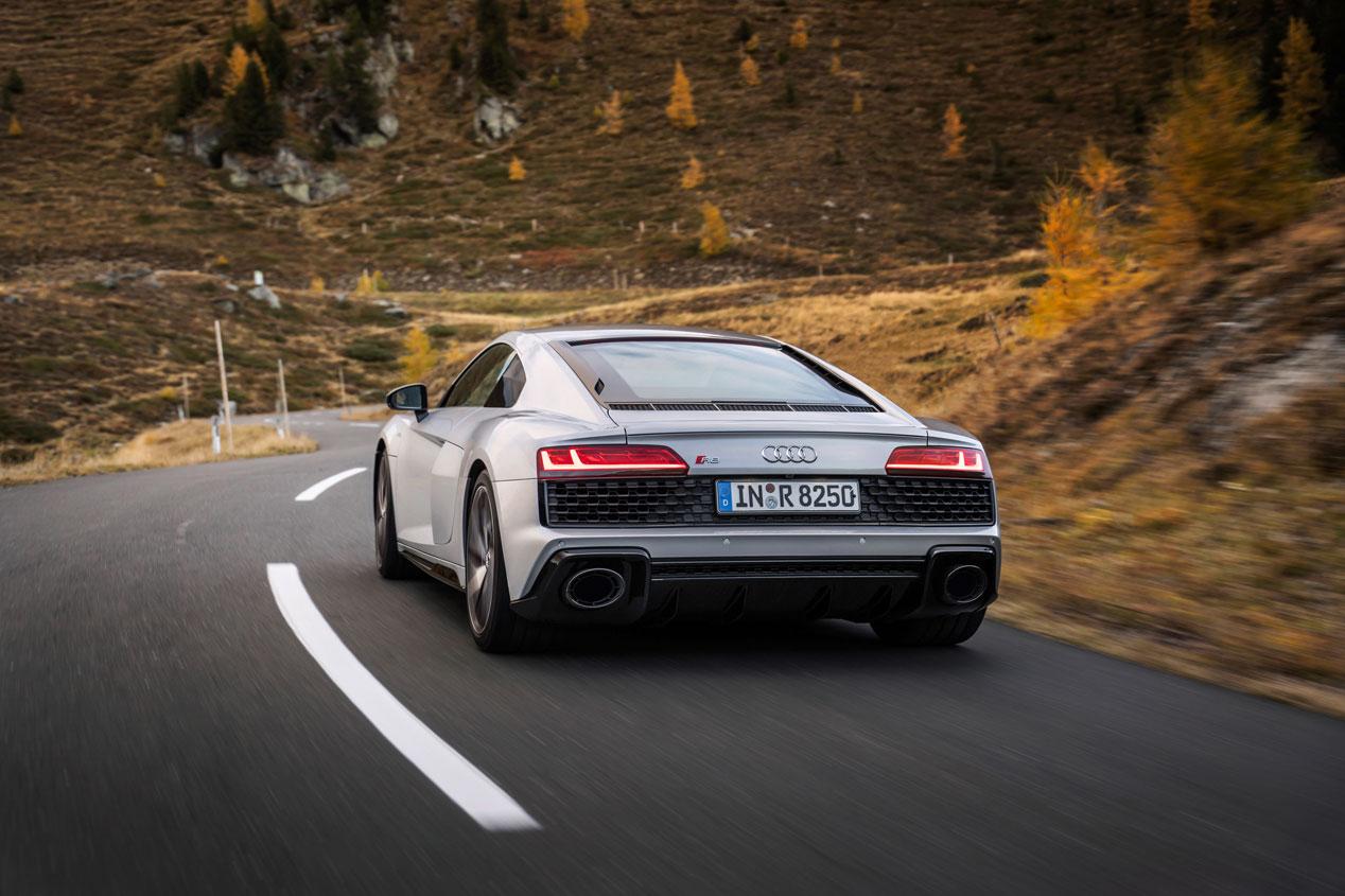 Audi R8 V10 RWD, sus mejores fotos