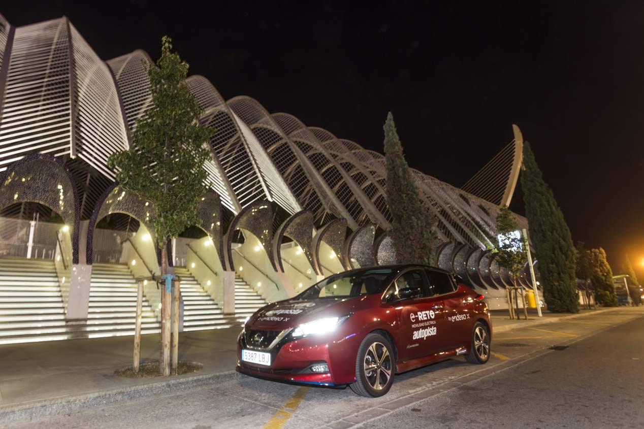 e-Reto Autopista by Endesa X: primera etapa, Valencia-Ciudad Real