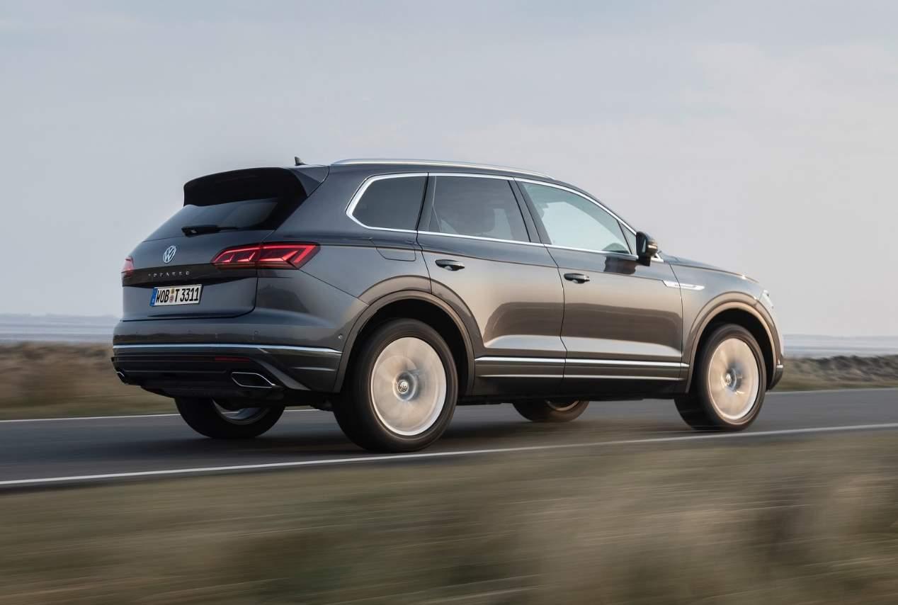 El VW Touareg 4.0 V8 diésel TDI, ya a la venta en España
