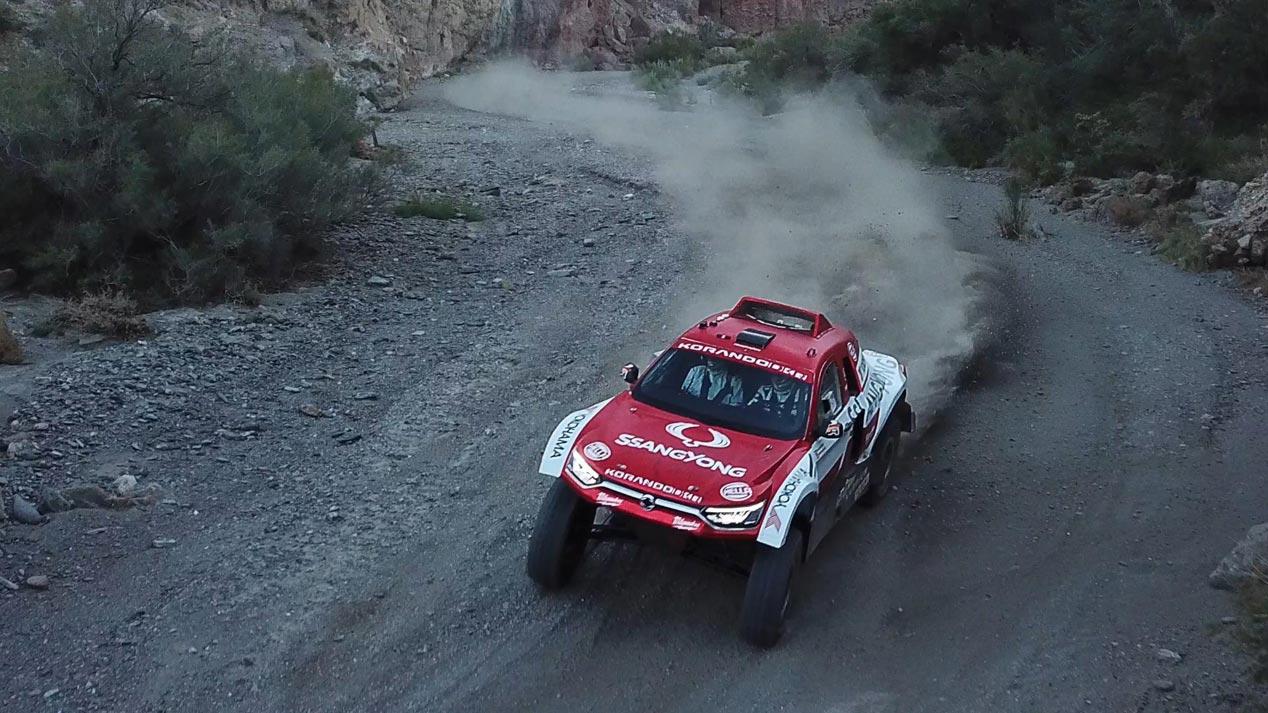 SsangYong Korando DKR, Óscar Fuertes y Diego Vallejo: al Dakar 2020