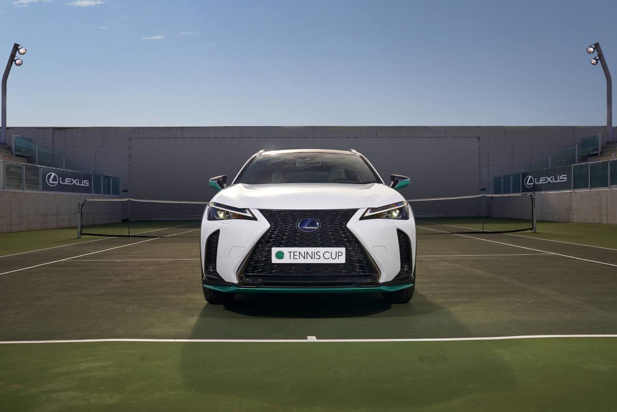 """Lexus UX 250h """"Tennis Cup"""" Edition: la nueva edición especial, en fotos"""