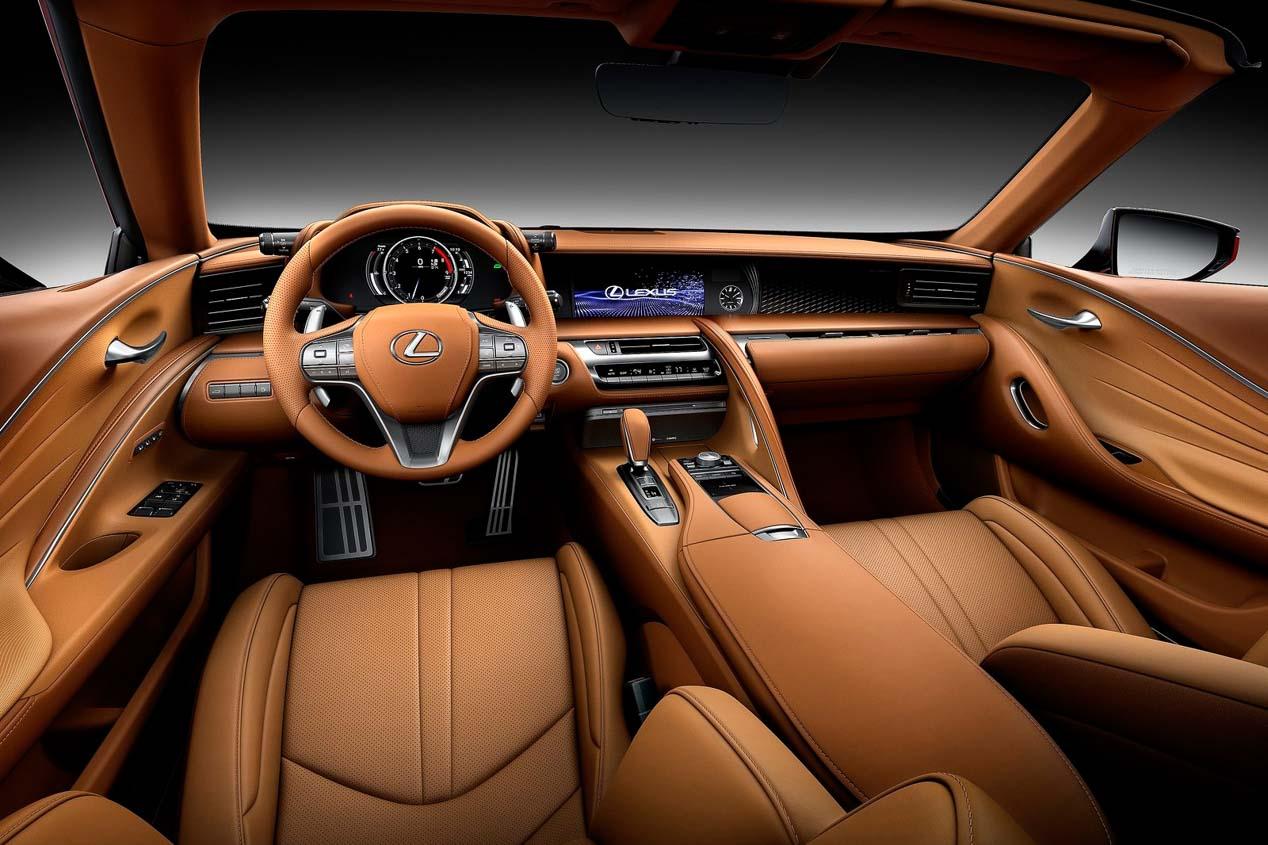 Todo sobre el nuevo Lexus LC 500 Cabrio