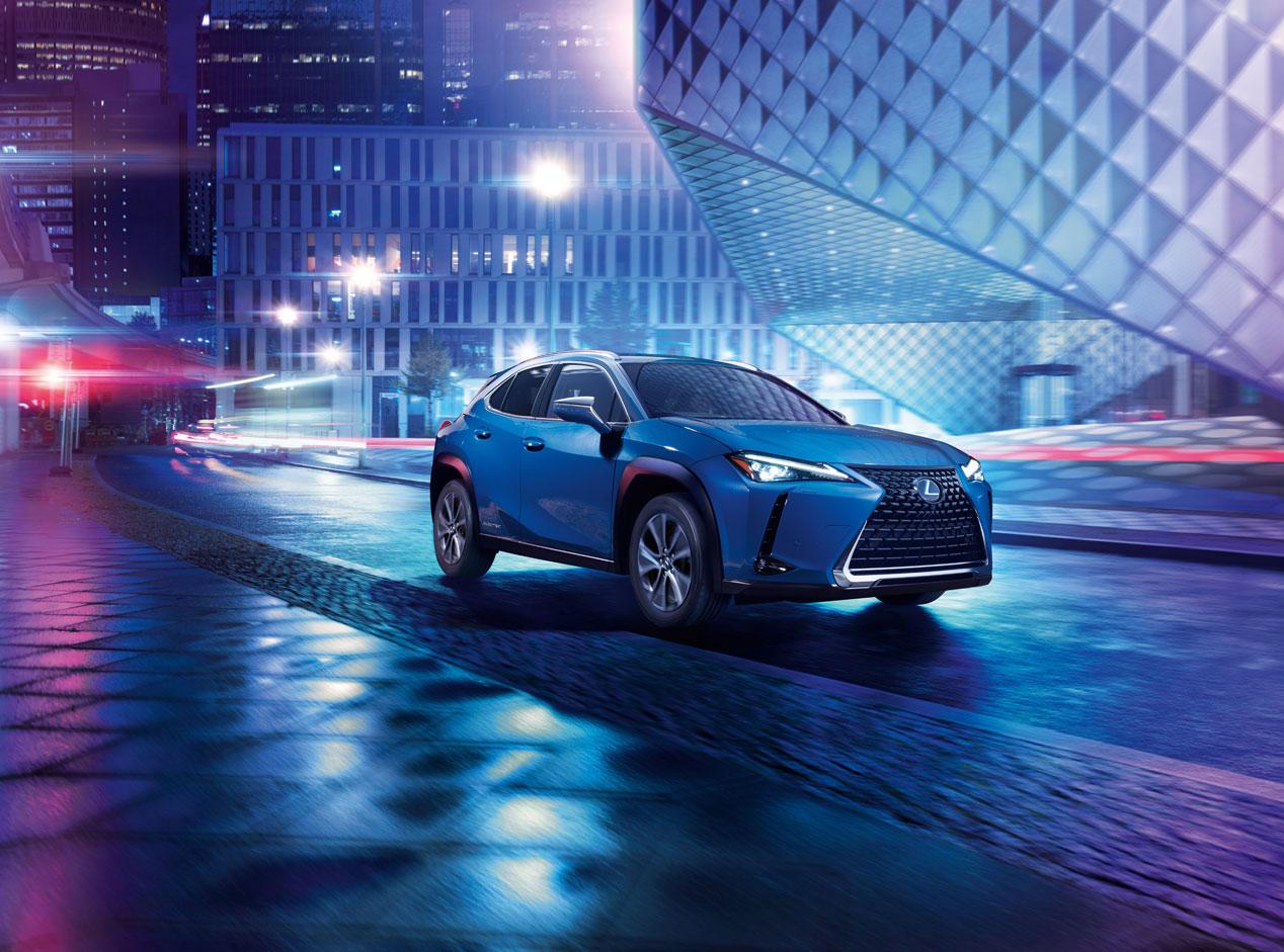 Lexus UXe, las mejores fotos del primer eléctrico de la marca