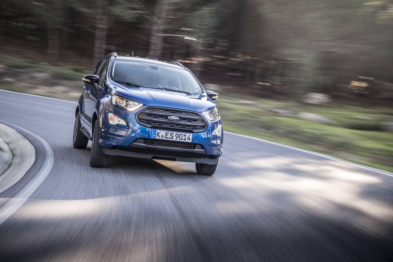Ford Ecosport 2020: lavado de cara para el SUV urbano