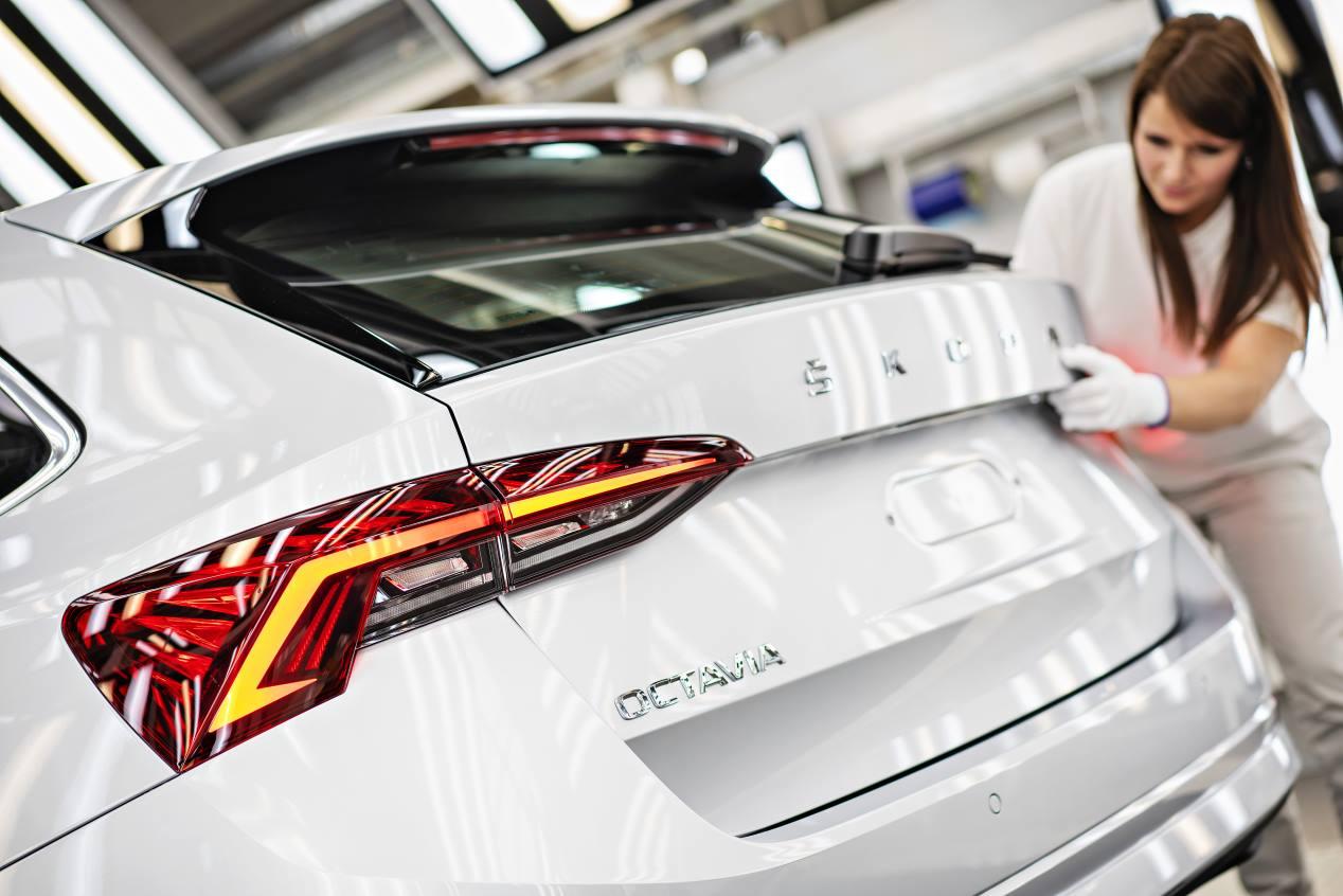 Skoda Octavia 2020: la cuarta generación empieza a fabricarse