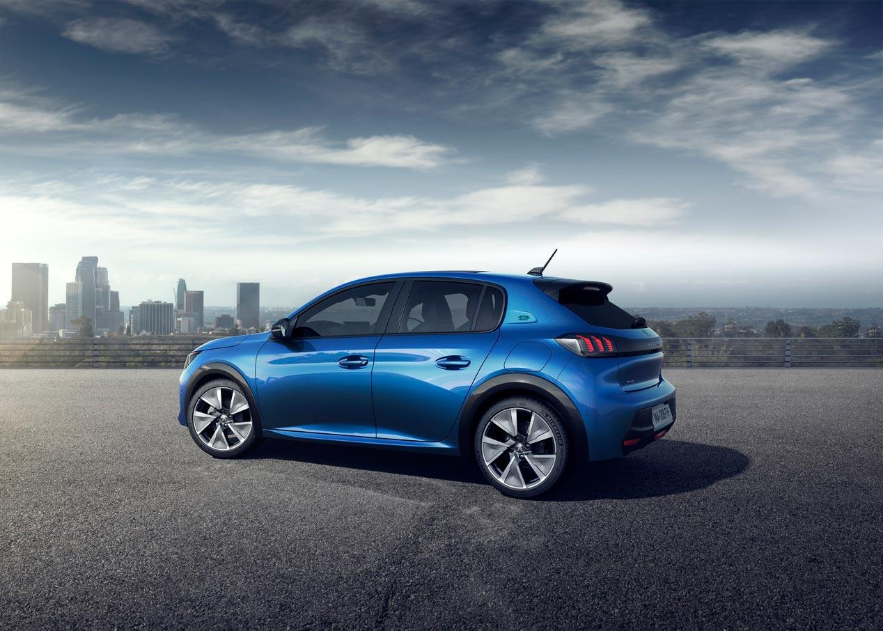 Peugeot e-208 cien por cien eléctrico
