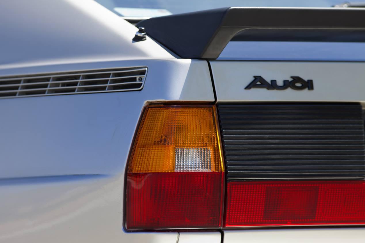 Audi quattro, las fotos de un deportivo mítico