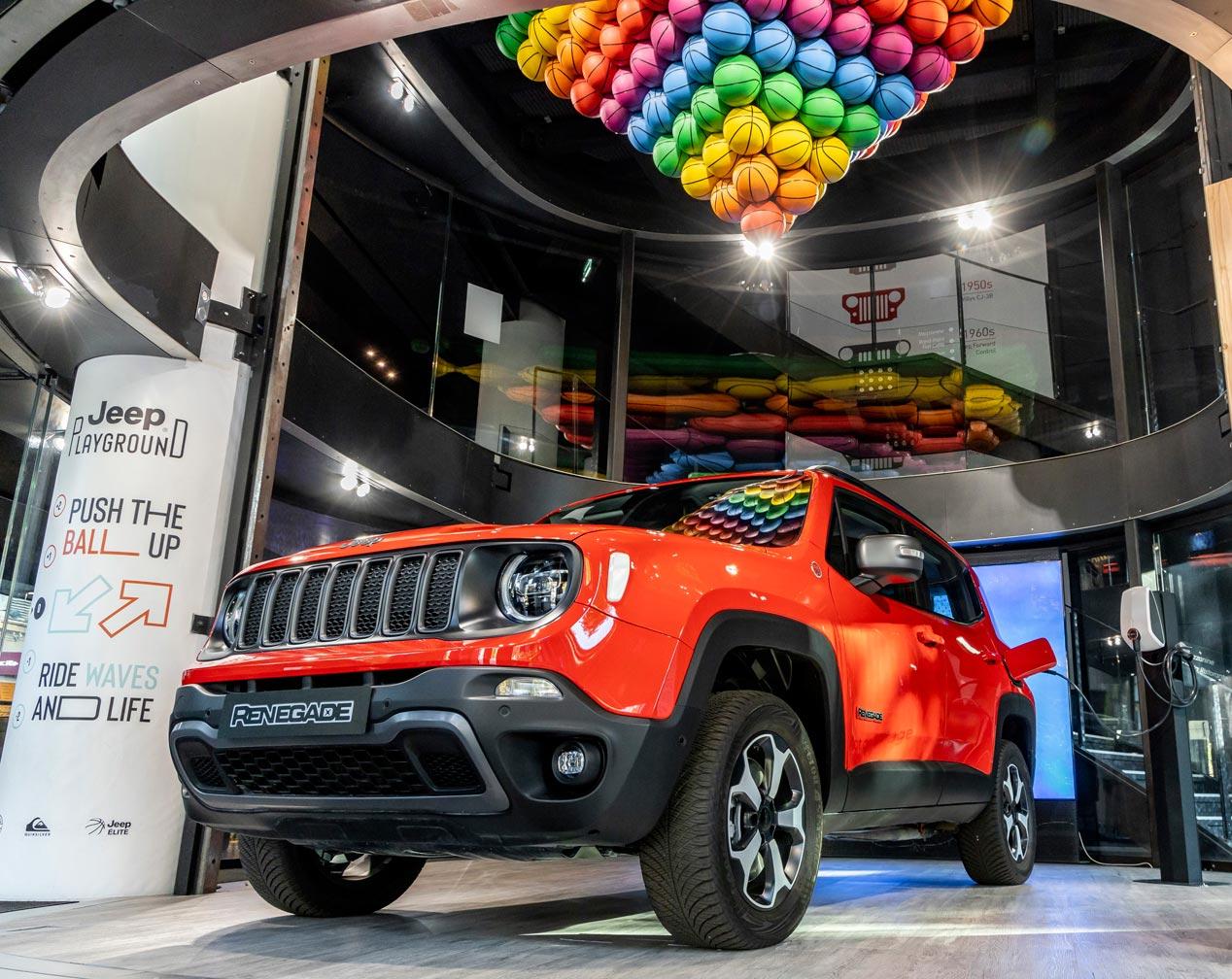 Jeep Renegade y Compass PHEV híbridos enchufables, en 2020