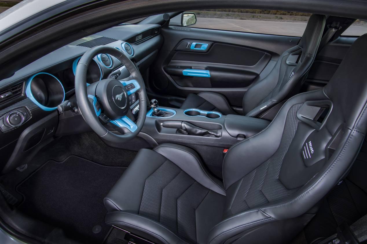 Así podría ser un futuro Ford Mustang eléctrico