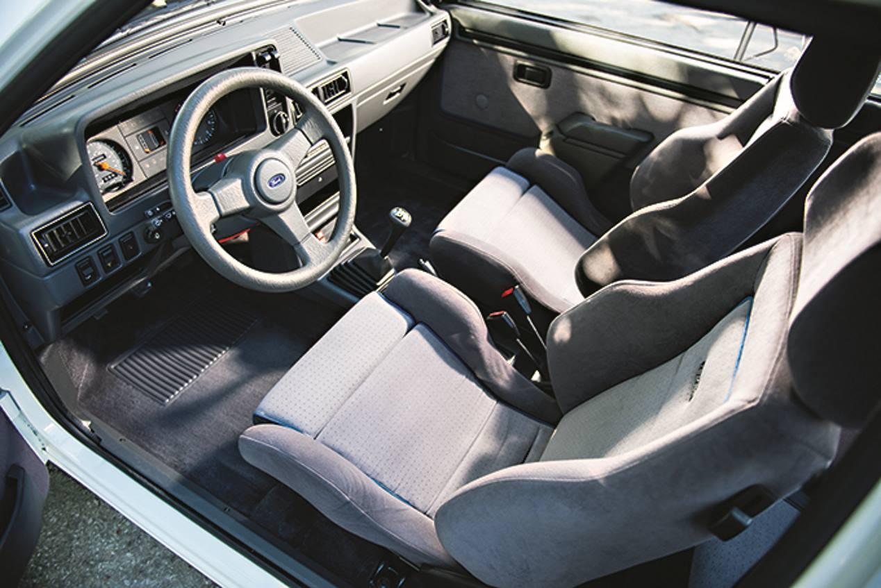 Ford Escort RS Turbo, un coche deportivo mítico en los 80