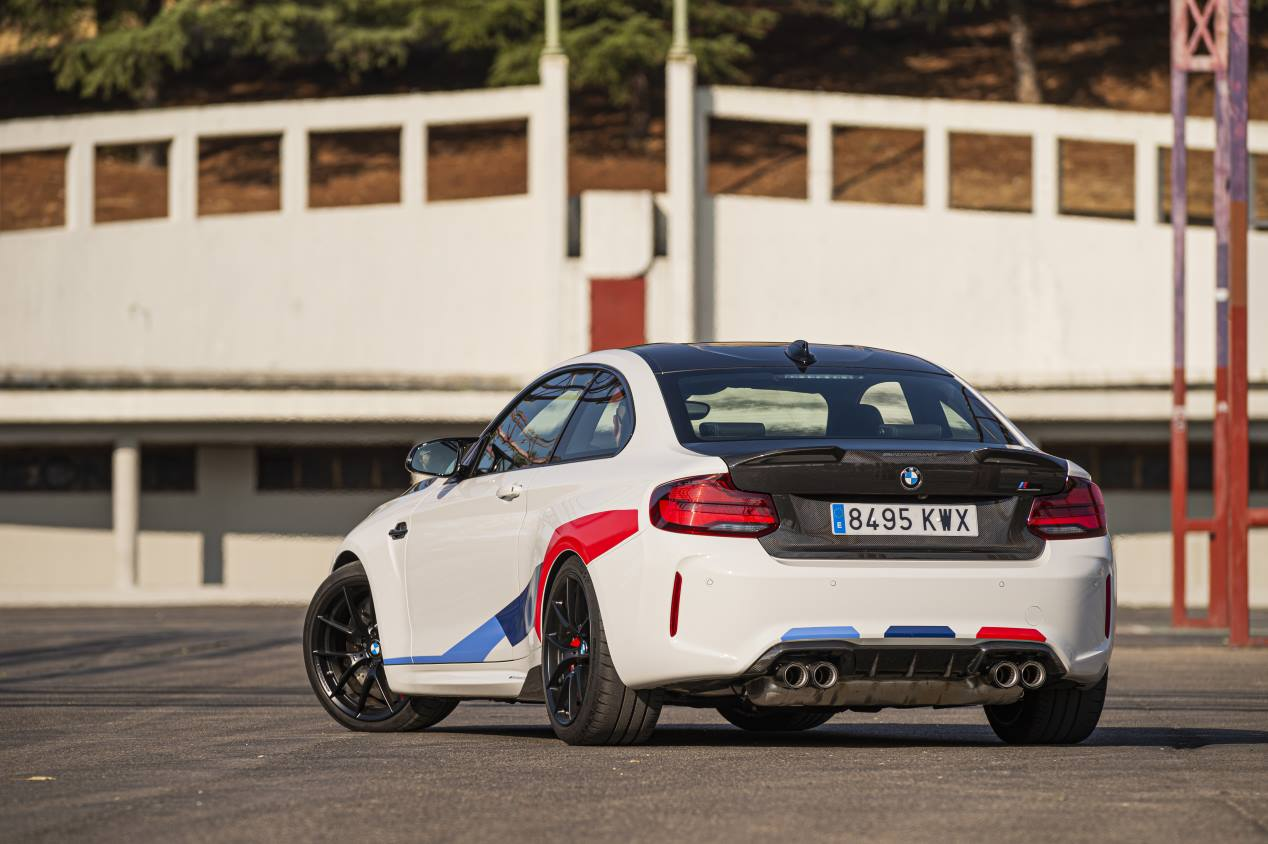 BMW M2 Competition M Performance: pedigrí deportivo