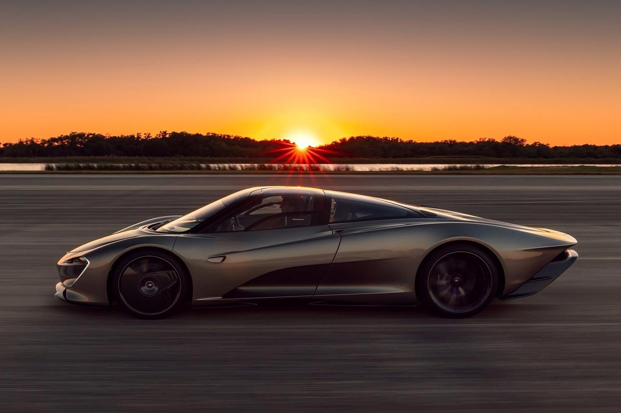 McLaren Speedtail: récord de velocidad en Woking