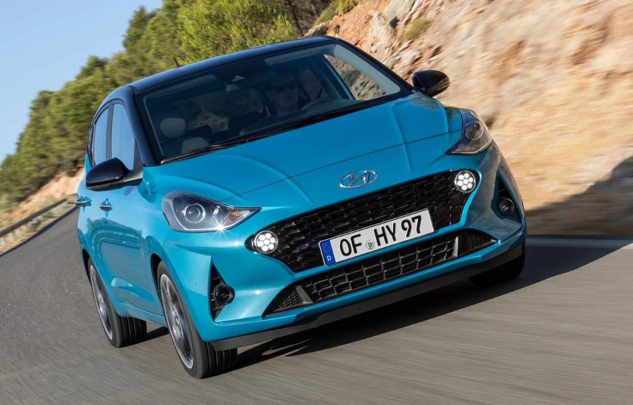 Hyundai 10, las mejores fotos del utilitario que ya comienza su producción