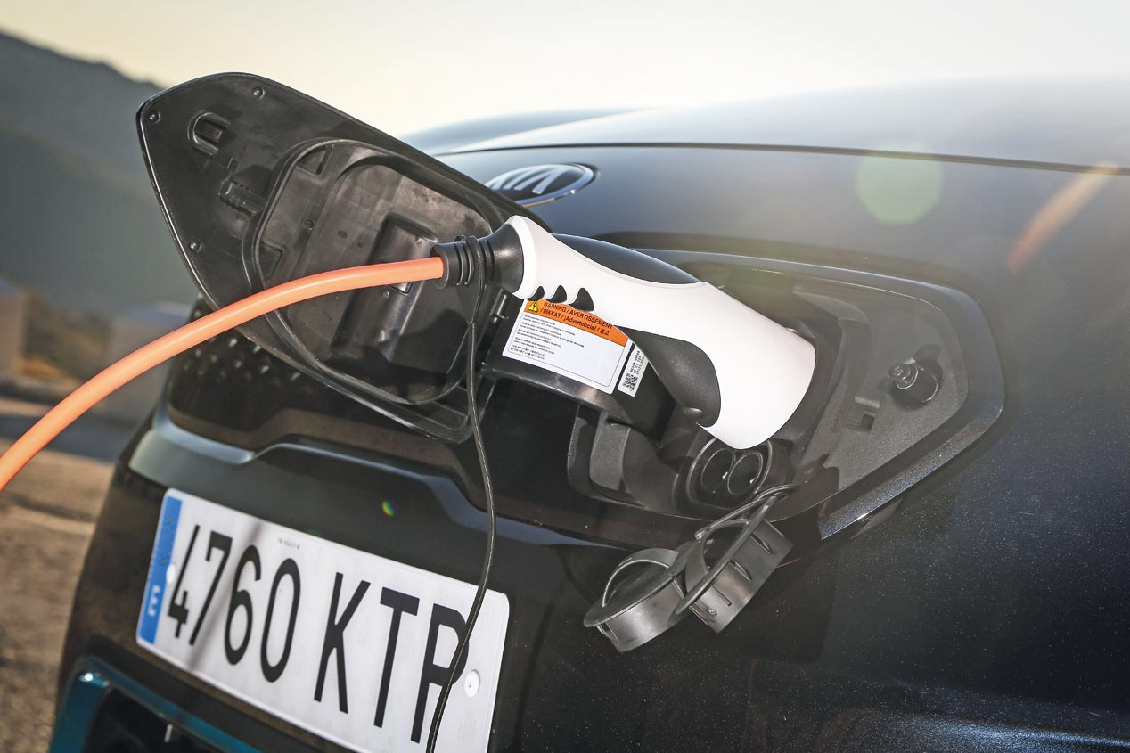 La gama electrificada de Kia