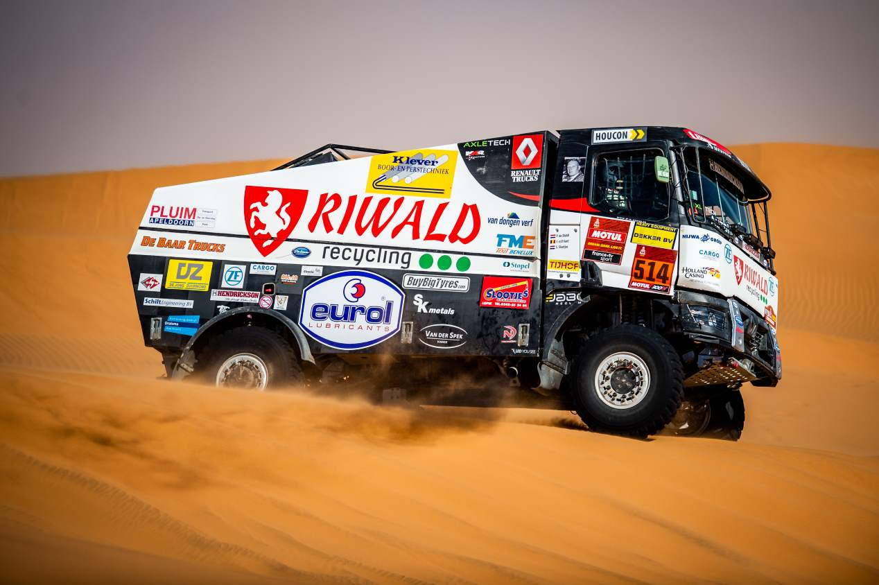 Renault C460 Hybrid Edition: el primer camión híbrido del Dakar