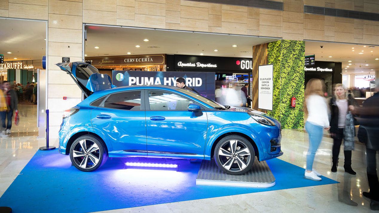 Prueba el nuevo Ford Puma gratis... ¡Y gana un fin de semana con él!