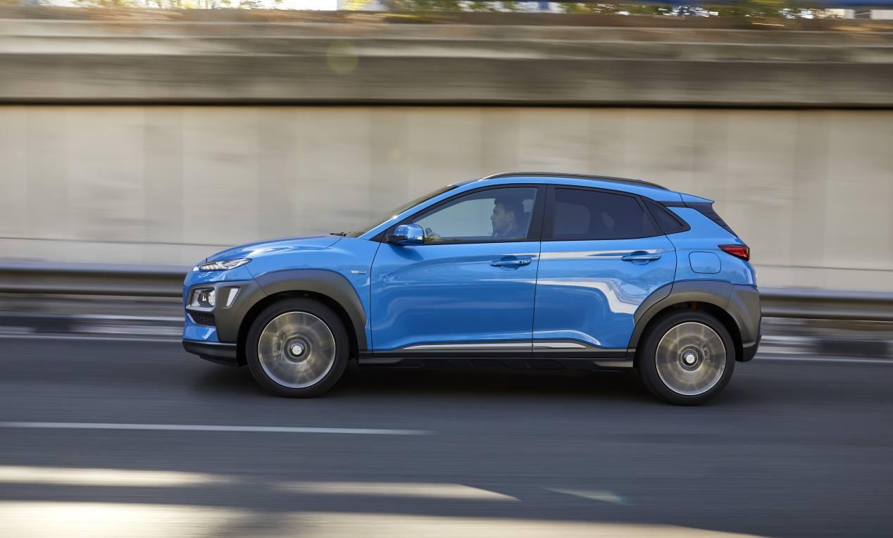 A prueba Hyundai Kona híbrido 141 CV DCT: un SUV que consume muy poco