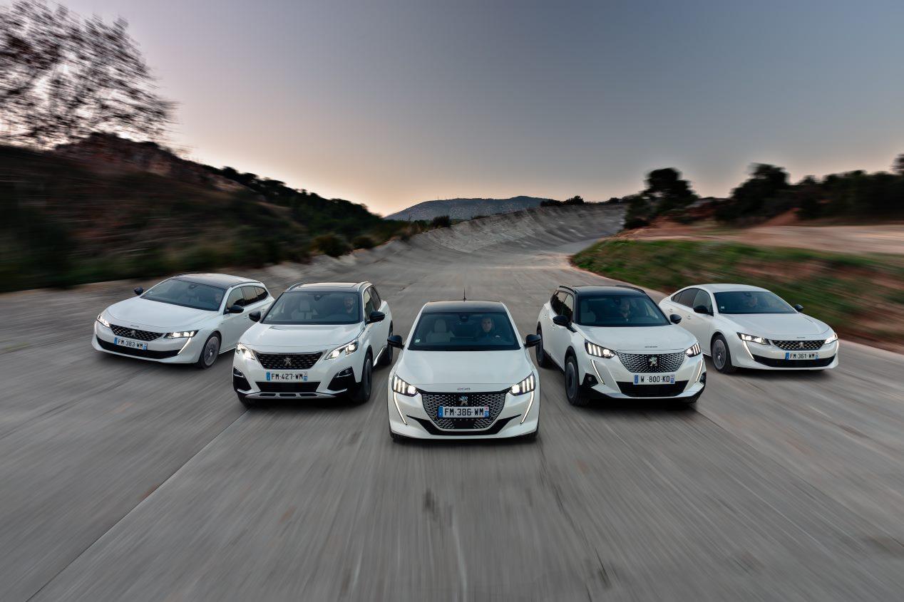 Estos son todos los coches eléctricos de Peugeot