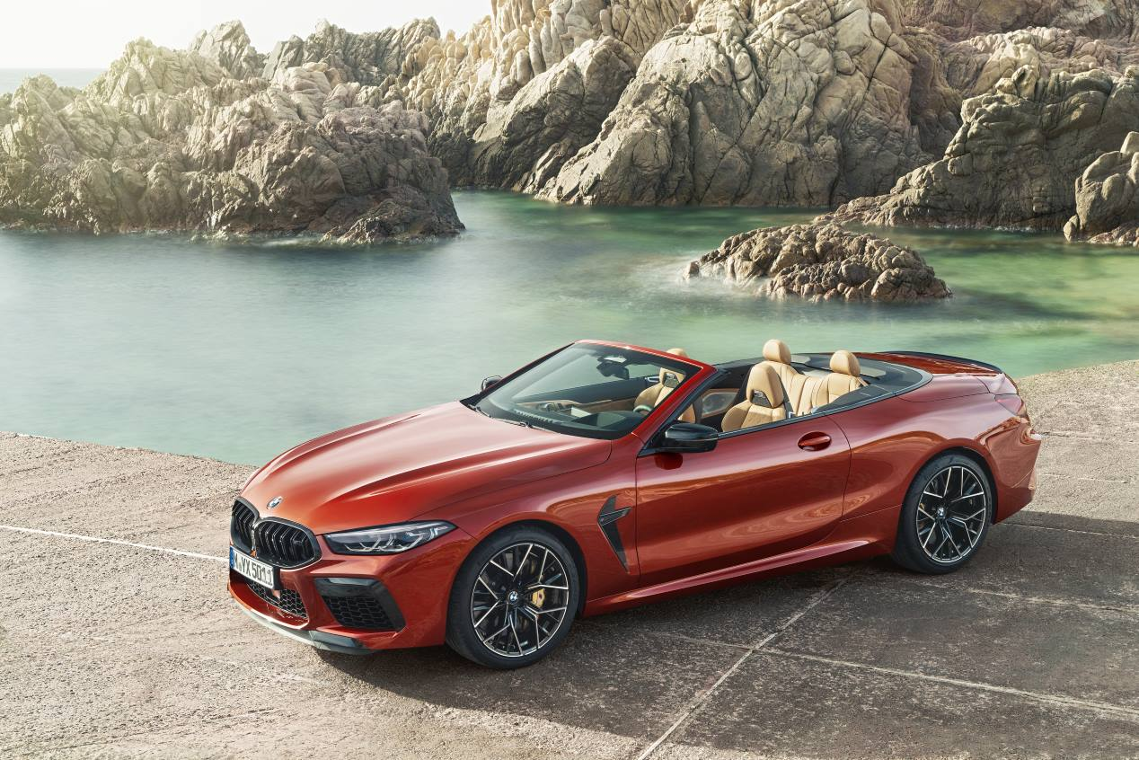 BMW M8 Competition Coupé y Cabrio 2020: poder en movimiento