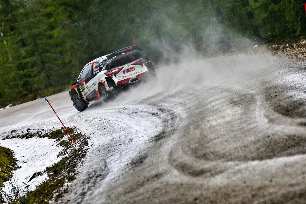 Las mejores imágenes del Rally de Suecia 2020