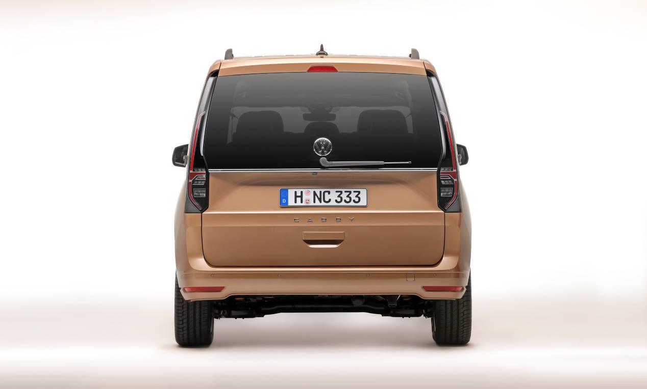 VW Caddy 2021: las mejores imágenes oficiales del nuevo familiar