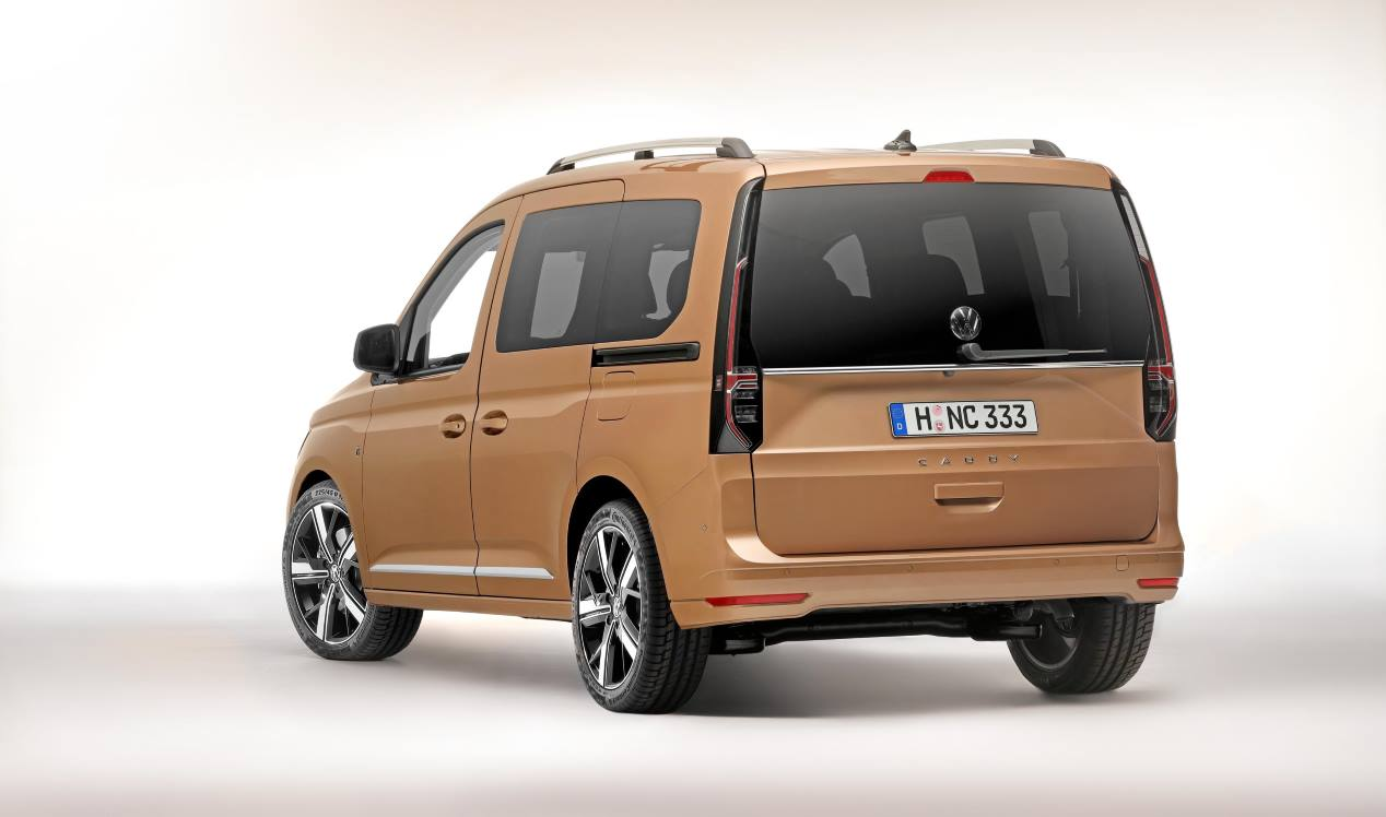 2021 VW Caddy Redesign