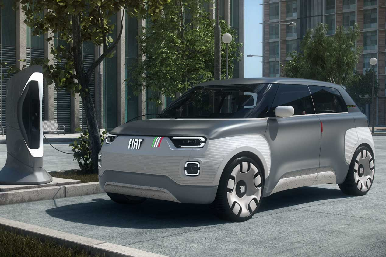 Fiat Centoventi. Fiat hará realidad su microcoche eléctrico