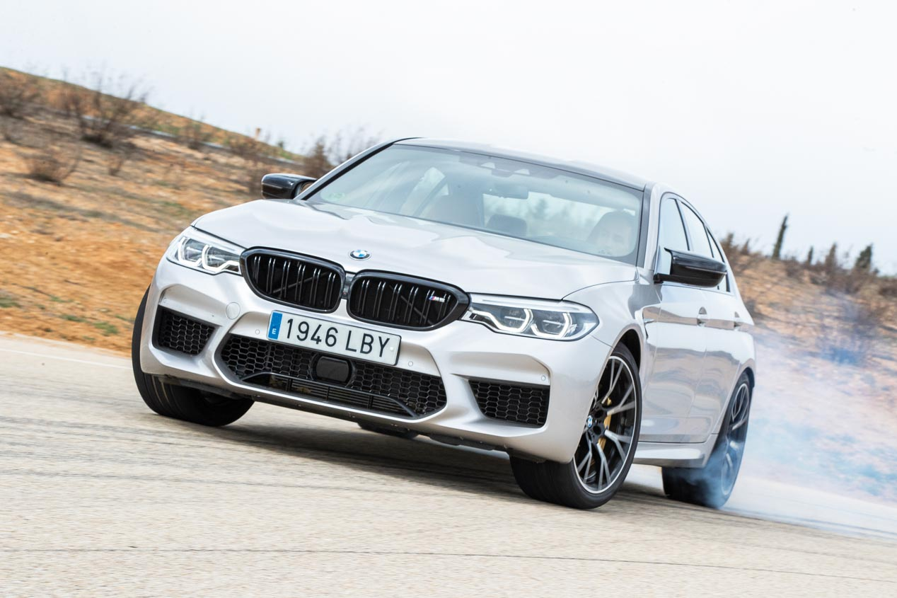 BMW M5 Competition vs Mercedes AMG GT 63s
