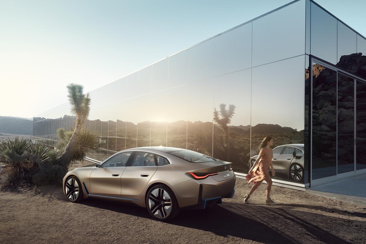 BMW i4: del concept, a la próxima berlina eléctrica de calle de la marca