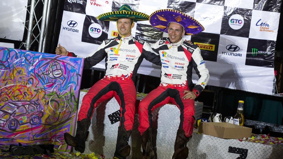 Las mejores imágenes del Toyota Yaris WRC en el Mundial de Rallyes