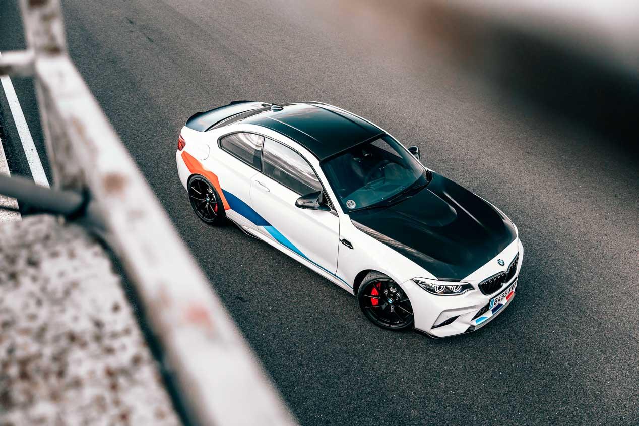 El BMW M2 Competition dispone de una serie de exclusivas opciones M Performance