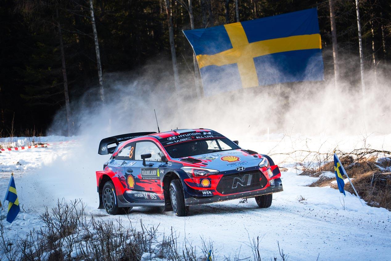Las mejores imágenes del Hyundai i20 Coupé WRC en el Mundial de Rallyes