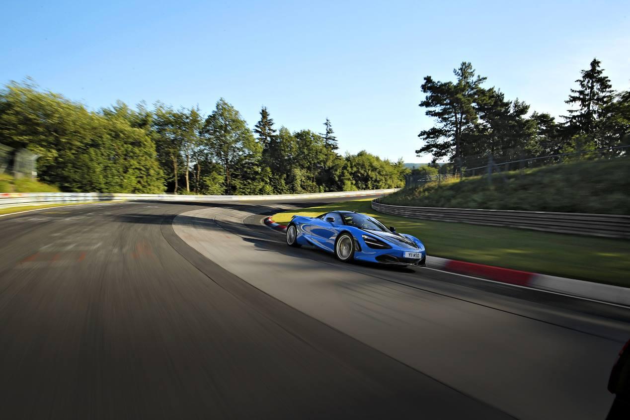 McLaren 720S: a prueba en el Circuito de Nürburgring