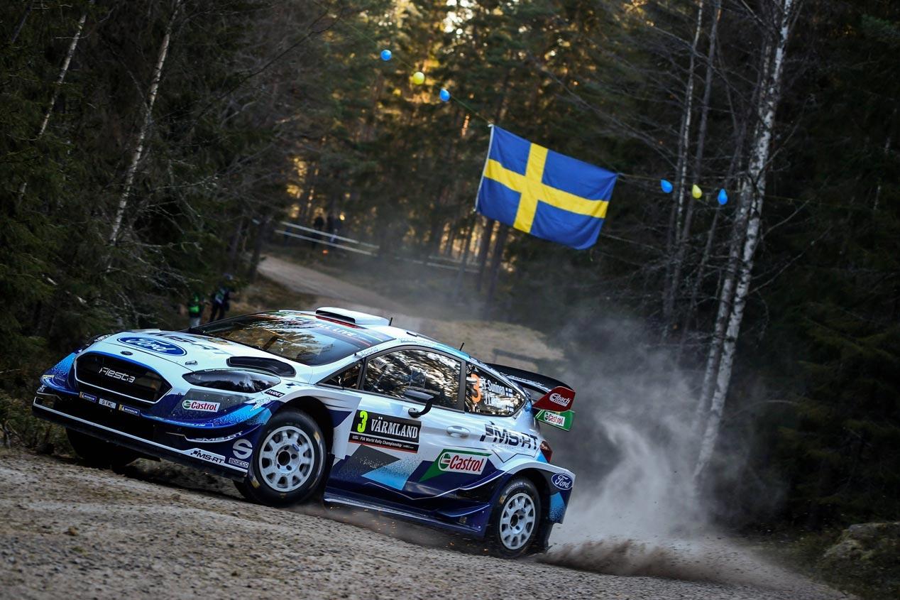 Las mejores imágenes del Ford Fiesta WRC en el Mundial de Rallyes