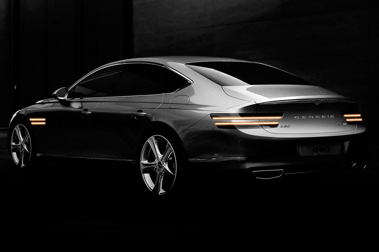 Genesis G80 2021: la nueva berlina de lujo, en imágenes