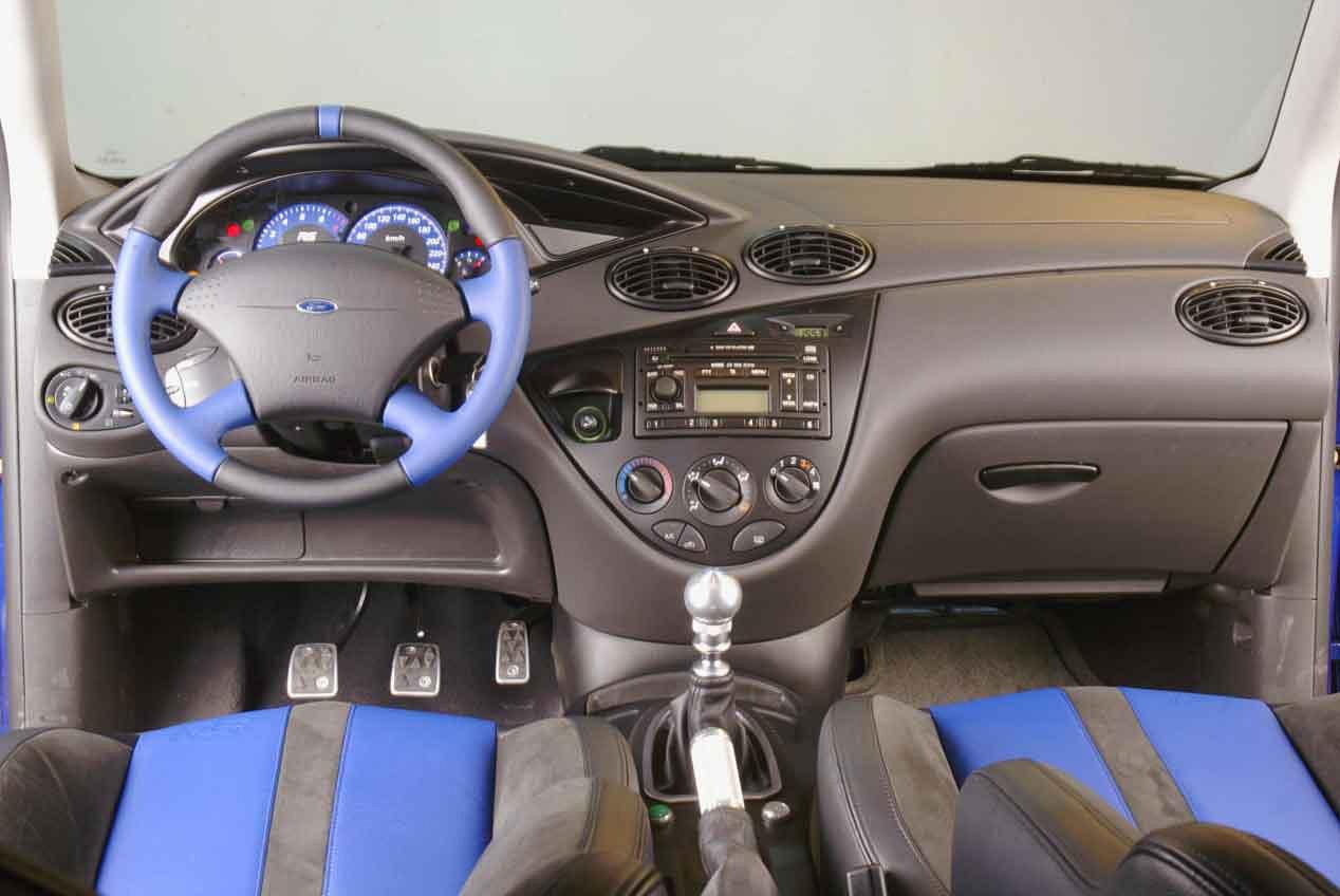 Las cuatro generaciones del Ford Focus RS