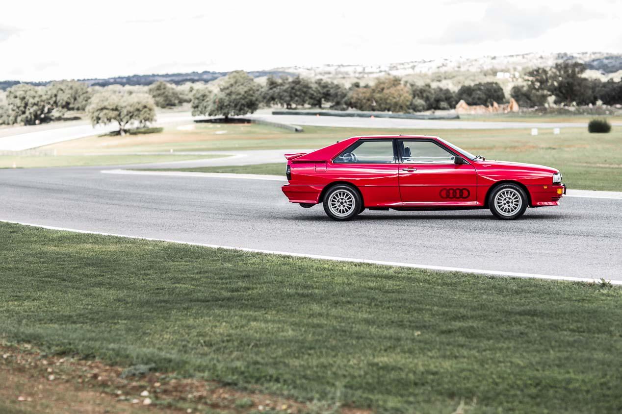 El primer Audi quattro se presentó en el Salón del Automóvil de Ginebra de 1980