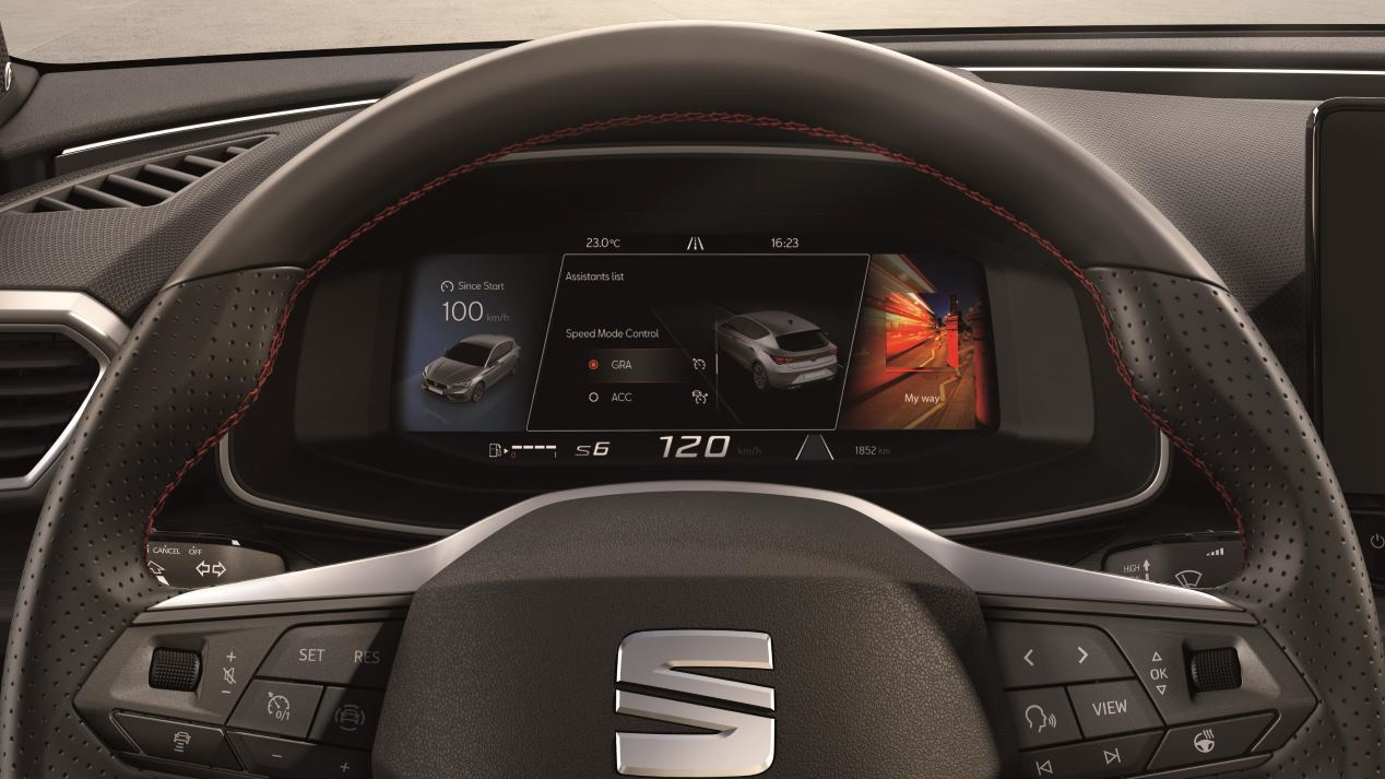 Seat León 2020: toda su tecnología, en imágenes