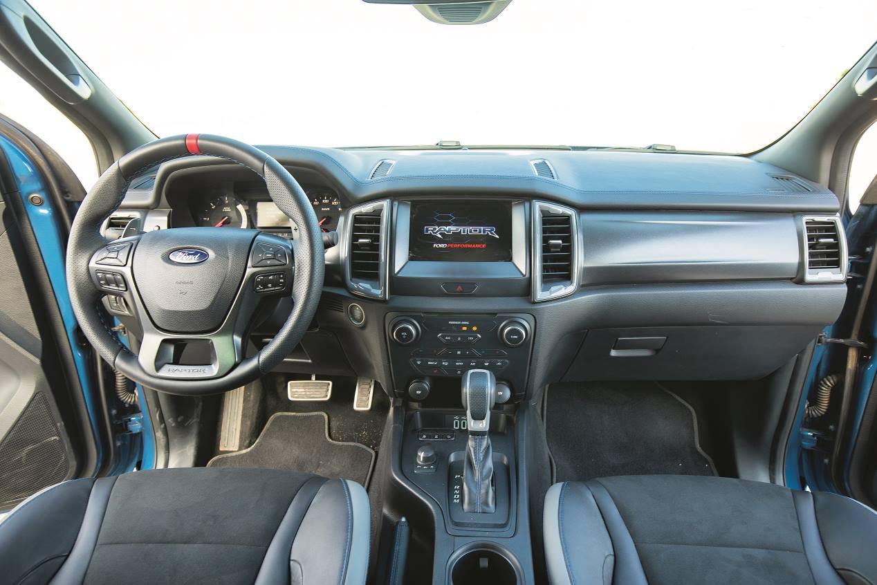 Ford Ranger Raptor 2.0 TDCi: a prueba un colosal 4x4