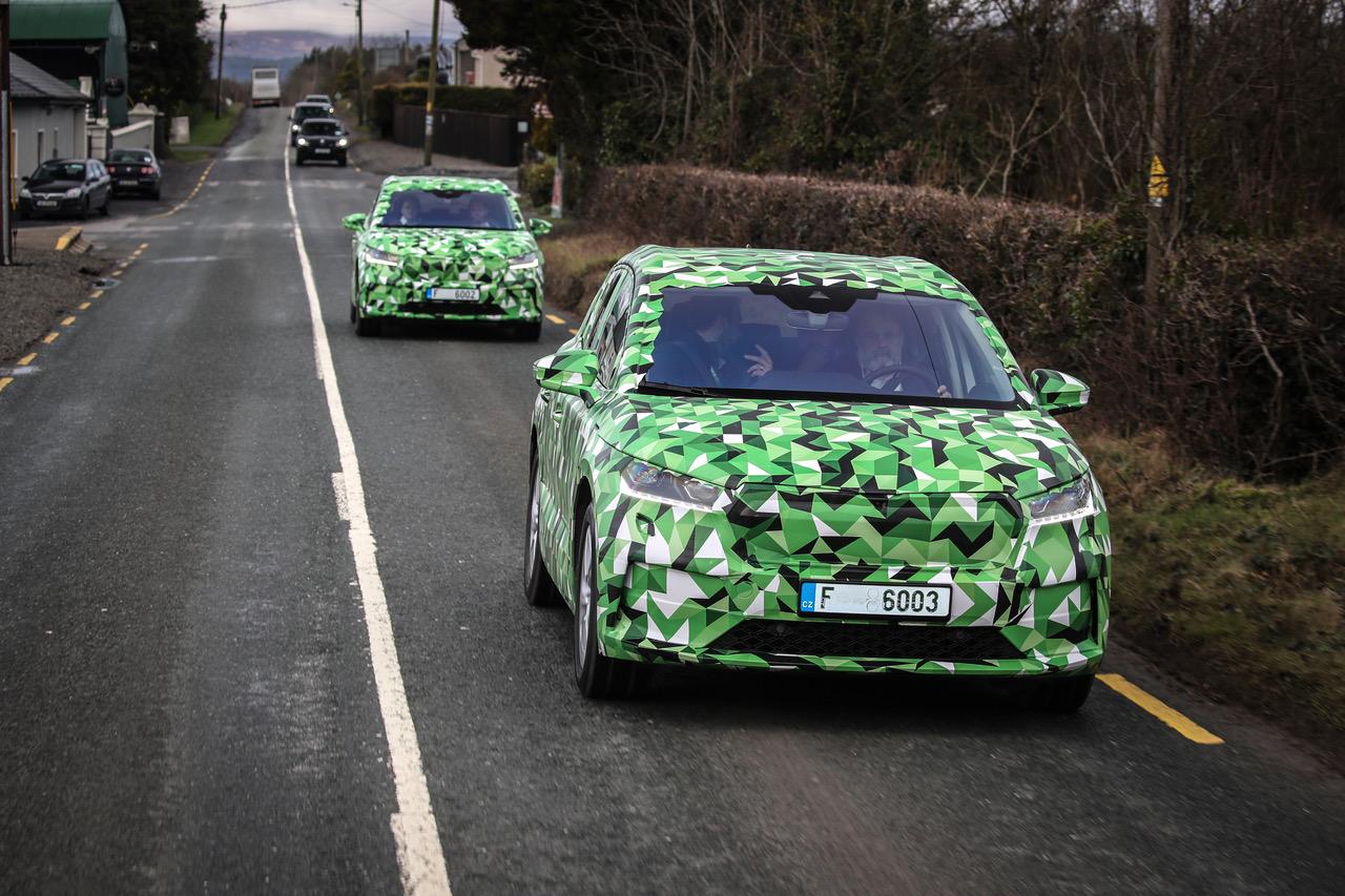 Skoda Enyaq: conducimos el nuevo SUV eléctrico, aun en prototipo